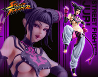 Street Fighter Bishojyo Juri 1/7 PVC Figure (Completed)