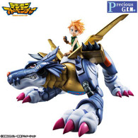 Precious G.E.M. Series Digimon Adventure MetalGarurumon & Yamato Ishida