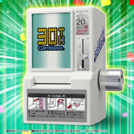 30th Anniversary Carddass mini vending machine BANDAI Premium