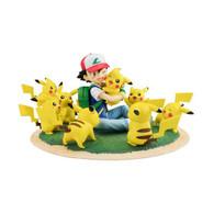 G.E.M. Series Pokemon Ash Ketchum & Pikachu (Pikachu full Ver.)