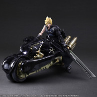 Play Arts Kai Final Fantasy VII ADVENT CHILDREN - Cloud Strife & Fenrir Action Figure