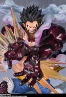 Figuarts Zero One Piece - Monkey D. Luffy Gear 4 -Leo Bazooka- PVC Figure