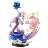 G.E.M. Series Pokemon Mew & Mewtwo PVC Figure