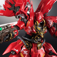 RG 1/144 Gundam Base Tokyo Limited Sinanju (Metallic Gloss Injection) Plastic Model