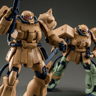 MG 1/100 MS-06F-2 Zaku II F2 (Kinbareid Forces) Plastic Model