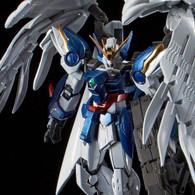 RG 1/144 Wing Gundam Zero Custom EW & Drei Zwerg Buster (Titanium Finish) Plastic Model ( NOV 2018 )