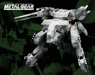 Metal Gear Solid Metal Gear REX 1/100 Plastic Model
