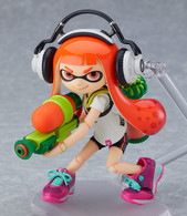 figma Splatoon Girl Action Figure