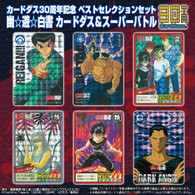 Carddass 30th Anniversary Best Selection Set Yu Yu Hakusho Super Battle
