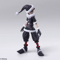 BRING ARTS KINGDOM HEARTS II - Sora Christmas Town Ver. Action Figure ( IN STOCK )