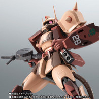 Robot Spirit Side MS MS-06D Zaku Desert Type Caracal Corps ver. A.N.I.M.E. Action Figure ( IN STOCK )