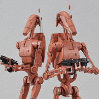 1/12 Battle Droid (Geonosis Color) Set Plastic Model ( DEC 2018 )