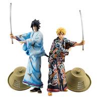 G.E.M. Series Naruto Shippuden Uzumaki Naruto & Uchiha Sasuke Kabuki EDITION SET PVC Figure
