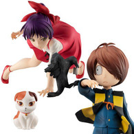 G.E.M. Series GeGeGe no Kitaro - Kitaro & Neko Musume (with Sunekosuri) Set