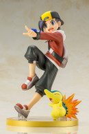 ARTFX J Pokemon - Ethan (Hibiki) with Cyndaquil 1/8 PVC Figure