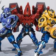 Figuarts Zero Kamen Rider Build - Hokuto Sanbagarasu Set PVC Figure
