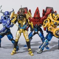 Figuarts Zero + S.H.Figuarts Kamen Rider Build - Hokuto No Sawatari Farm Set PVC Figure