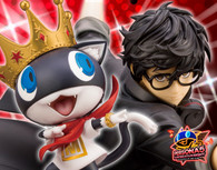 ARTFX J Persona 5: Dancing Star Night - Hero(Joker/Ren Amamiya) & Morgana 1/8 PVC Figure