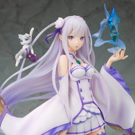 Alpha Omega Re:ZERO -Starting Life in Another World- Emilia PVC Figure