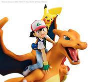 G.E.M. Series Pokemon (Ash Ketchum & Pikachu & Charizard) PVC Figure ( Rerelease )