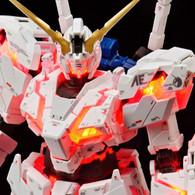 RG 1/144 The Gundam Base Limited RX-0 Unicorn Gundam (Destroy Mode) Ver.TWC (LIGHTING MODEL) Plastic Model Kit