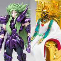 Saint Cloth Myth EX - Aries Shion (Surplice) & The Pope Set Action Figure