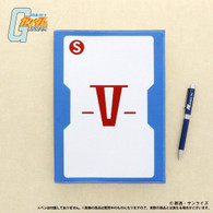 Mobile Suit Gundam Operation V Record book (Notebook)