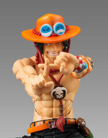 Variable Action Heroes One Piece Portgas D. Ace Action Figure ( Rerelease )