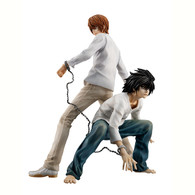 G.E.M. Series DEATH NOTE Yagami Light & L PVC Figure