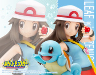 ARTFX J Leaf with Squirtle (Pokemon) 1/8 PVC Figure