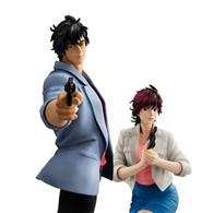 G.E.M. Series Saeba Ryo & Makimura Kaori (City Hunter: Shinjuku Private Eyes) PVC Figure