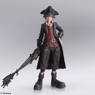 KINGDOM HEARTS III BRING ARTS Sora Pirate of Caribbean ver. Action Figure