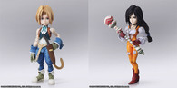 FINAL FANTASY IX BRING ARTS Zidane Tribal & Garnet Til Alexandros XVII Action Figure