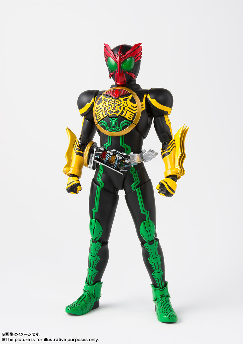 S H Figuarts (Shinkoccou Seihou) Kamen Rider OOO TaToBa Combo Action Figure  ( IN STOCK )
