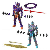 Super Mini Pla SSSS.GRIDMAN Gridknight & Gridman (Initial Fighter) Set