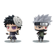 Chimi Mega Buddy Series ! NARUTO Shippuden Kakashi Hatake & Obito Uchiha Shinobi World War Set
