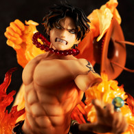 Portrait.Of.Pirates One Piece NEO-MAXIMUM Portgas D Ace 15th LIMITED Ver. PVC Figure