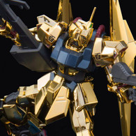 HGUC 1/144 The Gundam Base Limited Hyaku Shiki (Gold Coating) Plastic Model ( OCT 2019 )