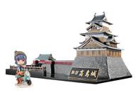 Takashima Castle x Yurucamp -Oshiro to Camp to Solocamp Girl- (Plastic Model + Mini Figure)