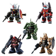 FW GUNDAM CONVERGE:CORE Mobile Suit Gundam REAL TYPE (Set of 5)