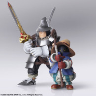 FINAL FANTASY IX BRING ARTS VIVI Ornitier & Adelbert Steiner Action Figure