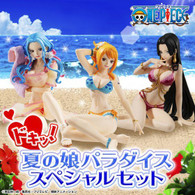 ONE PIECE GashaPortraits x Treasure Cruise Summer Girl Paradise Special Set