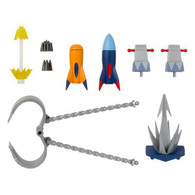 Super Mini Pla Chodenji Robo Combattler V Optional Parts Set