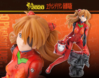 Rebuild of Evangelion Asuka Langley Shikinami: Q (Plug Suit ver.):RE 1/6 PVC Figure