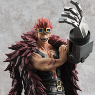 Portrait.Of.Pirates One Piece LIMITED EDITION Eustass Captain Kid PVC Figure