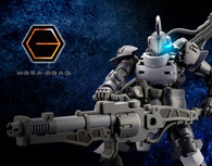 Hexa Gear Governor Armor Type: Knight [Nero] 1/24 Plastic Model