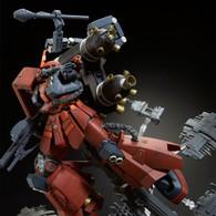MG 1/100 High Mobility Type Psycho Zaku (Gundam Thunderbolt) Final Battle Ver. Plastic Model ( DEC 2019 )