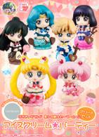 Petit Chara Land  Sailor Moon Ice cream Party Assorted Set PVC Figure