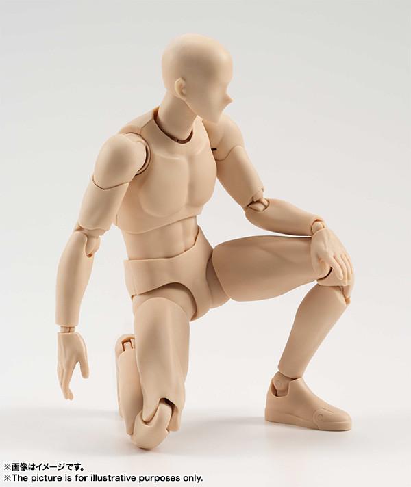 S H Figuarts Body-kun (Pale Orange Color Ver ) Action Figure