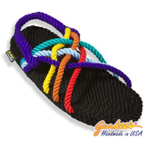 Signature Neptune Rainbow Rope Sandals